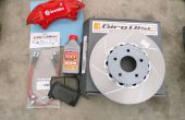 Disk Brake Pads, Rotor, en remklauw vervanging