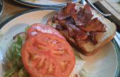 Ouderwetse BLT Sandwich