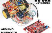 Snelheid gecontroleerde RC auto gebruikend (4 CH Motor-Driver Controller + Arduino + Bluetooth)