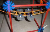 Knex aangepaste achtbaan auto voor mini track