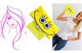 Hoe maak je schuim ambachten / SpongeBob SquarePants Tissue houder Tutorial voor Kids