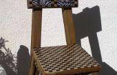 Houten stoel van Recicled