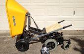 6 wielen R/C kruiwagen met pneumatische Dump