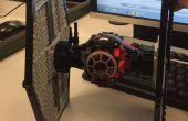 Reverse-Engineering- en 3D-printen van een Lego eerste orde Tie Fighter!