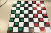 Checker en schaakbord