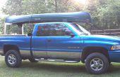 Bouw je eigen Low Cost Pickup Truck kano Rack
