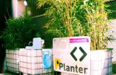 PPlanter urinoir, wasbak, + planter!