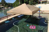 Luifel/Gazebo (ook bekend als een EZ-UP) vlotter voor het zwembad of meer voor goedkope