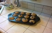 Stap voor stap Blueberry Muffins