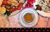 Zee van liefde (zeevruchten diner voor twee)