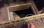 $14 geheime Crawlspace toegang deur