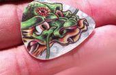 Plectrums tattoo
