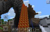 Hoe verzamelt Lava op Minecraft Pocket Edition