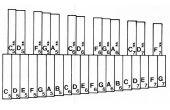 Leren spelen de xylofoon