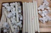PVC stoel materialen (materiële afbeelding invoegen)