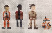 Star Wars Cross Stitch: Force ontwaakt Trio