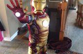 Eenvoudig en goedkoop toevoegen repulsor lichten aan childs iron man kostuum