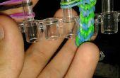 Hoe maak je een omgekeerde fishtail met behulp van een weefgetouw