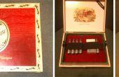 """Maken van een """"Engelse fit"""" pistool geval uit een sigaar doos"""
