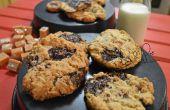 Chocolade karamel Oatmeal Cookies