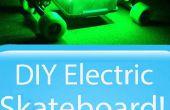 DIY Elektrische Skateboard met verlichting