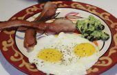 Perfecte Sunny Side Up eieren maken