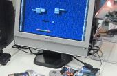 Retro game console with ATMEGA644