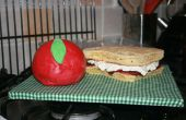 Apple & Sandwich taart