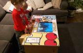 Een DIY Arcade tabel wordt verzorgd door Raspberry Pi