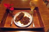 PAN gebakken TILAPIA gevuld met verse BIESLOOK, uien & paprika's