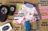 Met behulp van papier kladjes te maken snel en eenvoudig bedrukte kaarten