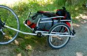 A Child's Bike Trailer converteren een lading aanhangwagen.