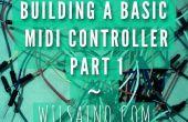 Bouwen van een Basic Midi Controller deel 1 - eenvoudig 3 effecten Pot (Potentiometer) Arduino Uno Midi-Controller (Serial-USB)... Snel, gemakkelijk en goedkoop!