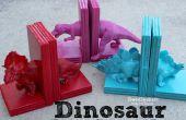 Dinosaur boekensteunen met hete lijm!