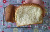 Zacht melk brood - eenvoudig geen mixer recept