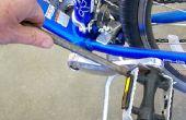 Sleutel voor een fiets pedaal