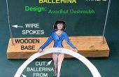 Papercraft evenwicht Ballerina speelgoed!