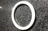 Maken van een torus uit PVC-buis