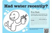 Herinnering Poster Project water