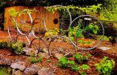 Zijwielen: Fiets wiel Trelly met Leiboom appelboom