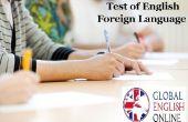 Test van het Engels als vreemde taal Online voorbereiding