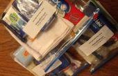 AidLeros 'Wat is IN mijn tas?' Steun distributie packs - volwassen hygiëne tas.