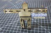 Elasti-Bot: de beweegbare houten robot