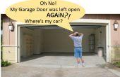 Automatische Garage deur Open/gesloten Checker