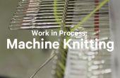 Werk onderhanden: Machine breien
