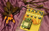 Kerstverlichting aan muziek met behulp van Arduino