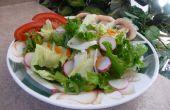 Houd groene salades verse!
