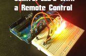 Arduino - controle LEDs met een afstandsbediening