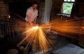 Maken van 1000 nagels - koloniale Blacksmithing