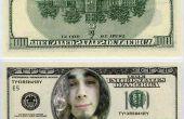 Hoe te zetten van een gezicht op een dollar bill (en maak mini dollarbiljetten)